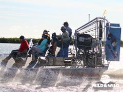 The Safari Sunset Airboat Tour