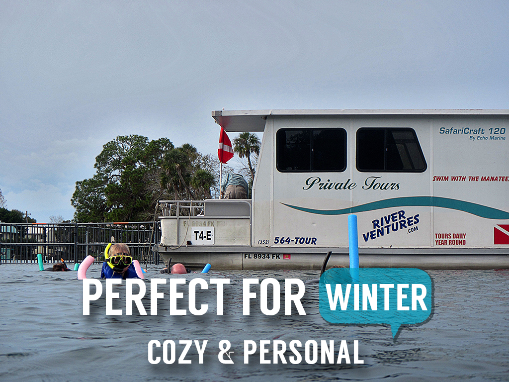 Semi-Private Heated Houseboat Manatee Tour (4 hr) - Homosassa