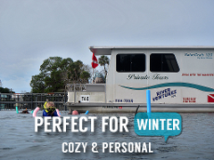 Gift Certificate Semi-Private Heated Houseboat Manatee Tour (4 hr) - Homosassa