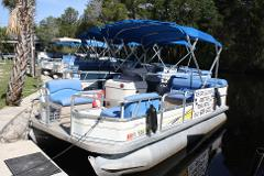 FULL DAY 18 ft. Pontoon 40 hsp motor 6 passenger