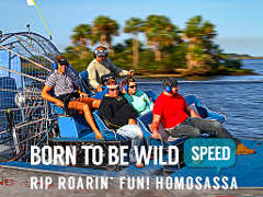 The Spectacular Scenic Safari Airboat - Homosassa