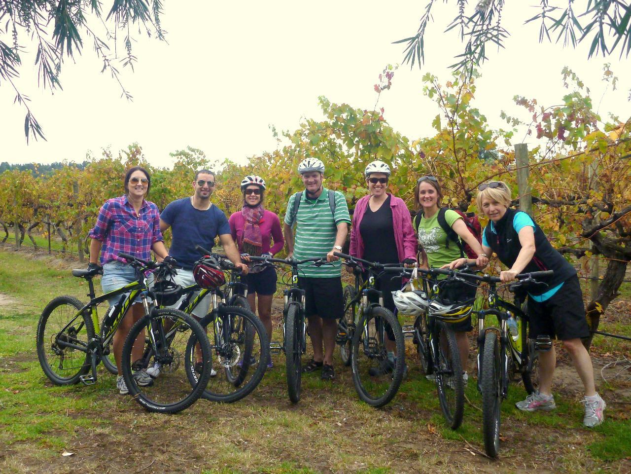 Mclaren Vale bike and wine gift voucher