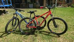 Hardtail bike hire