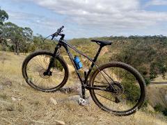 Hardtail bike hire