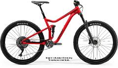 Large Merida One Forty full suspension bikes
