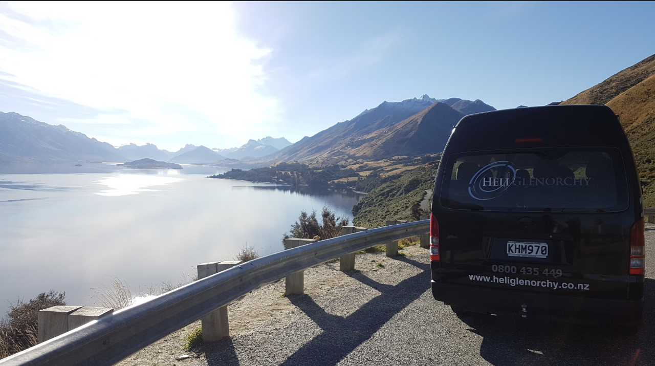Complimentary return transport ex Glenorchy (only available with a scenic flight booking)