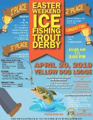 EASTER WEEKEND - ICE FISHING TROUT DERBY - Flights, Accommodations, and Derby Fees