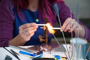 PIEGARO EXPERIENCES glass making in Piegaro, in UMBRIA