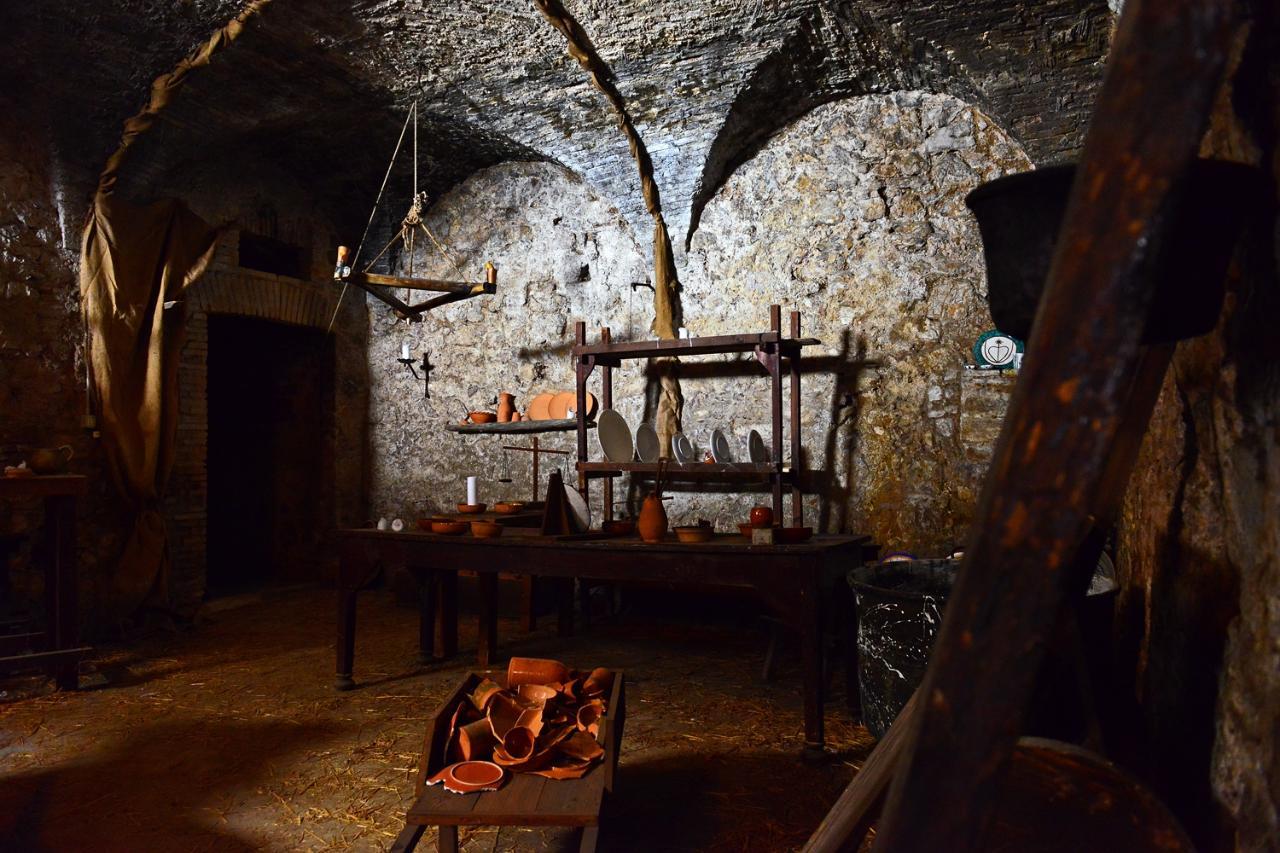 NARNI_Un tuffo nel 1371! Visita agli ambienti medievali