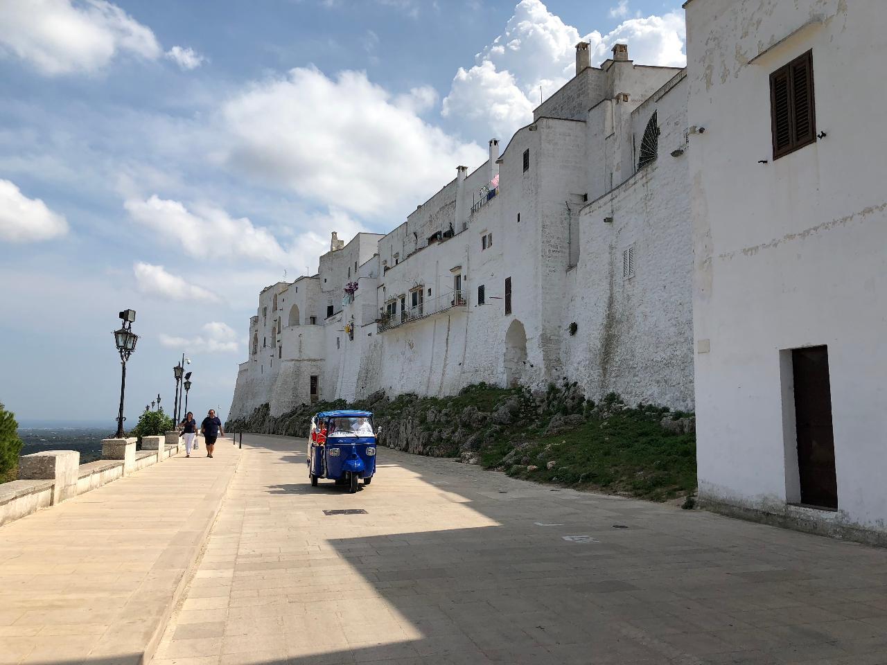 Ostuni, The white city and its historic gardens #EnglishTour