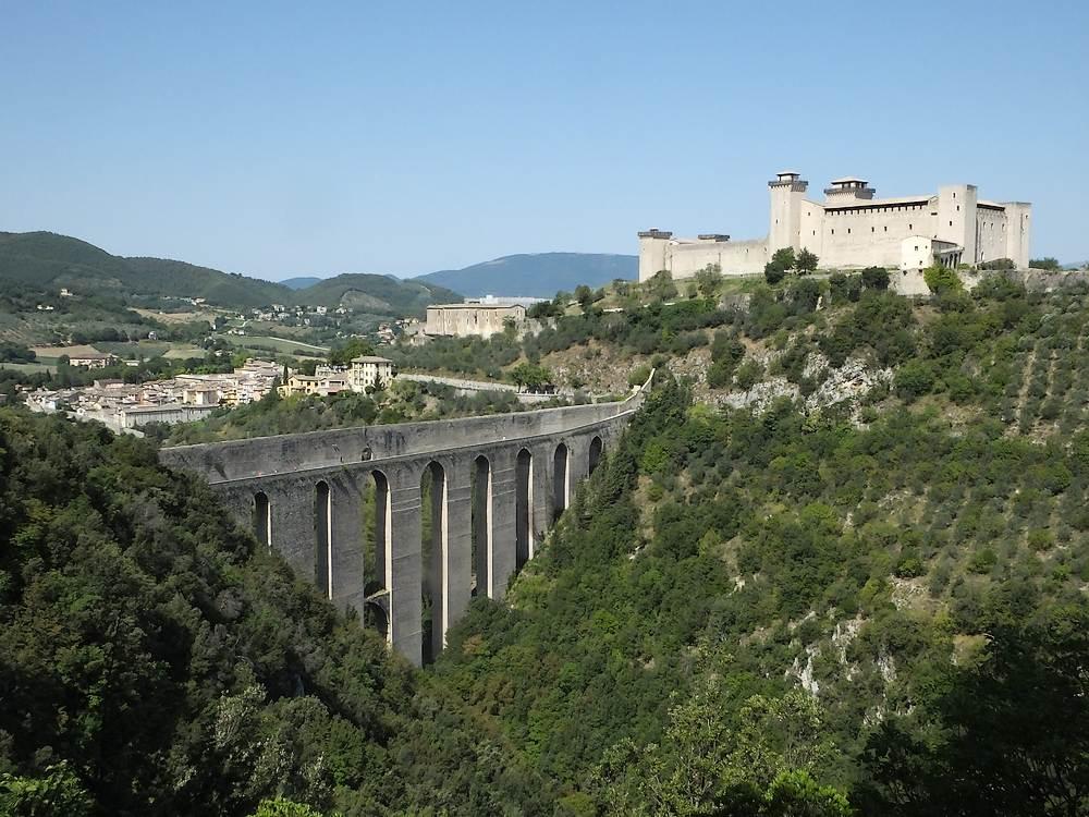 SPOLETO _ La Rocca Albornoz di Spoleto, dalle origini all'epoca carceraria