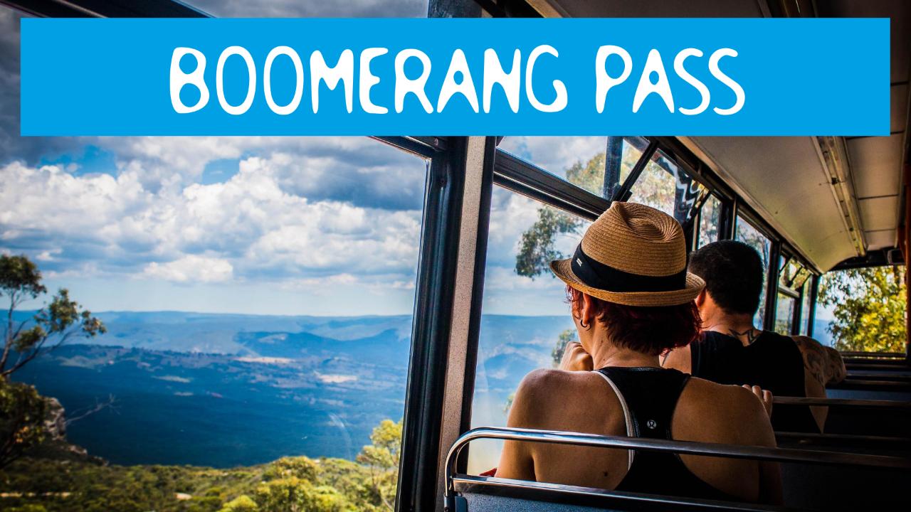 BOOMERANG PASS - One Hour Sightseeing Tour