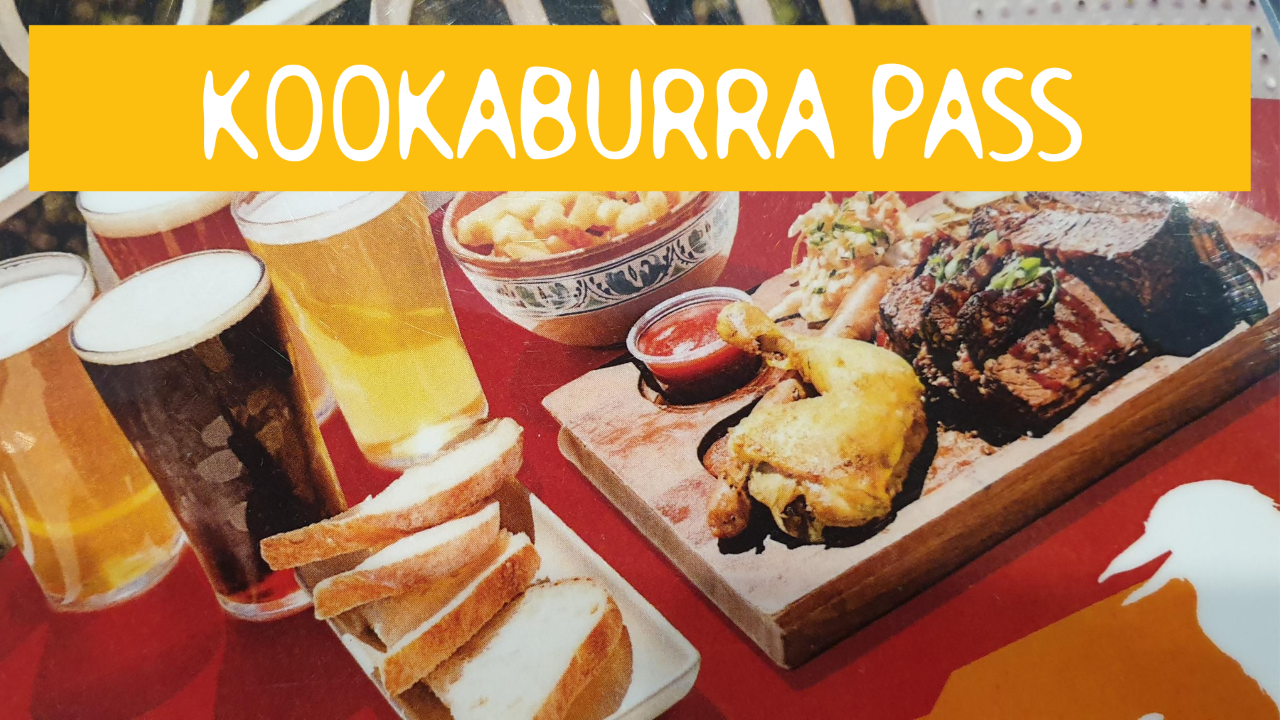 KOOKABURRA PASS - Hop On Hop Off + Scenic World + Food & Beverage Package