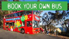 School Holiday Special - Book your own Double Decker - 2 hours