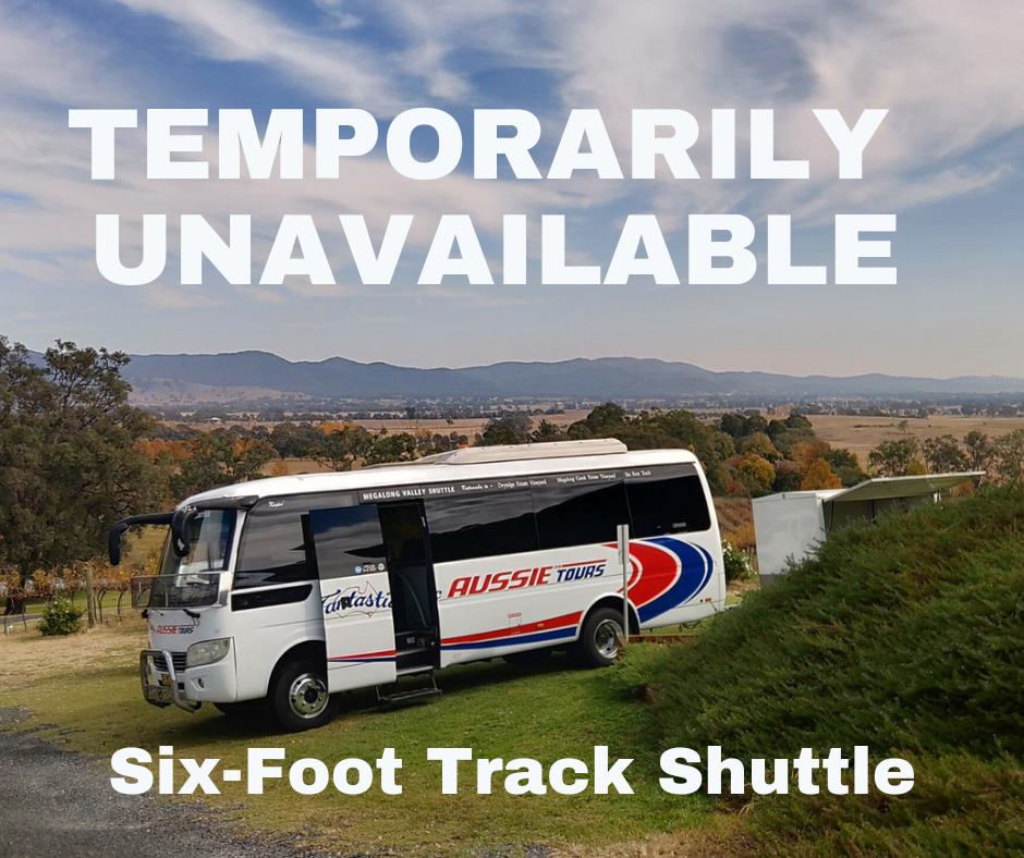 Six Foot Track Shuttle - Katoomba to Jenolan Caves