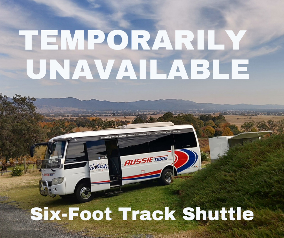 Six Foot Track Shuttle - Jenolan Caves to Katoomba