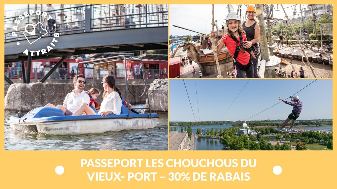 Passeport Les chouchous du Vieux- Port