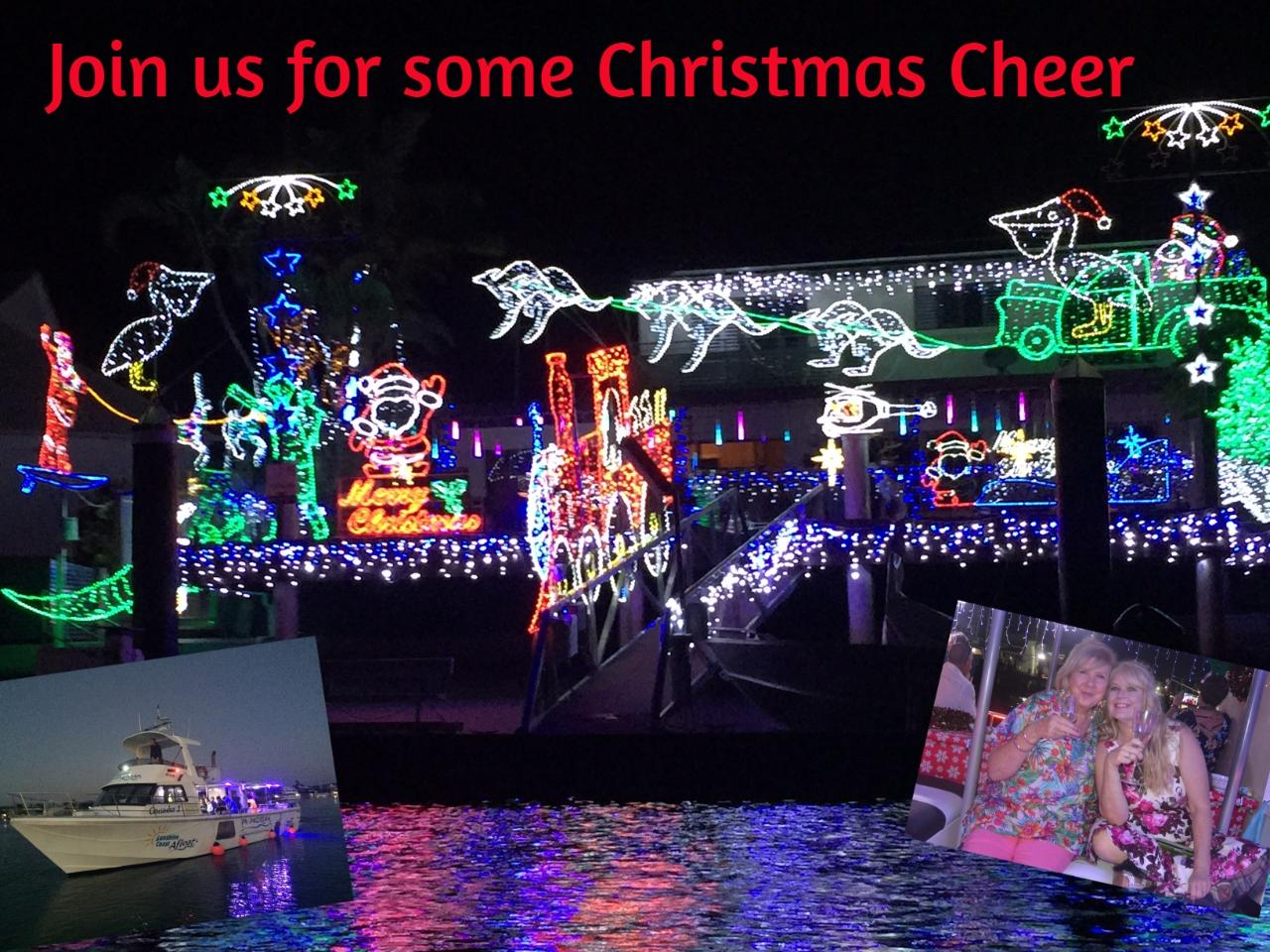 Christmas Lights Cruise on Crusader 1