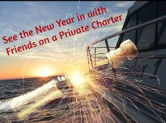 New Years Eve Cruise  - Boat Hire Only  (Midnight Fireworks)