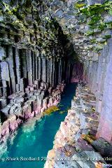Swimming Fingals Cave