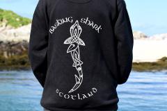 Celtic Design Basking Shark Hoody