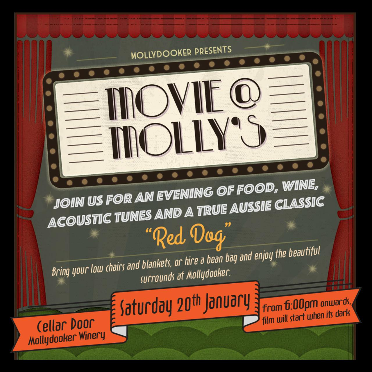 Movie @ Molly's - Red Dog
