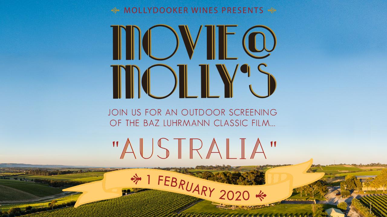 Movie @ Molly's || Australia - CANCELLED DUE TO WEATHER
