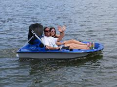 Fusion Go-Float Boat - Hourly