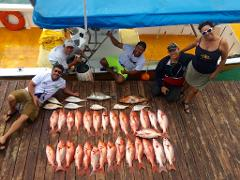 Private Group Sport Fishing Charter - Half Day (max 4 people)