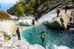 Canyoning pe insula marilor zei - Samothraki, Grecia