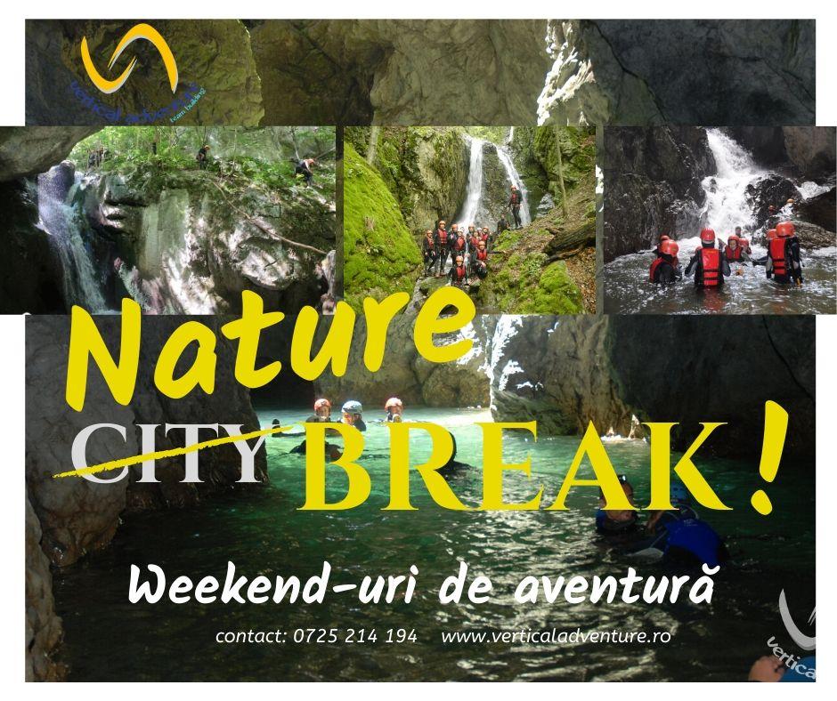 Nature Break! 16-17 mai Peștera Topolnița & Canyoning Valea Cernei
