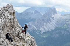 Via - Ferrata în Dolomiți - Italia