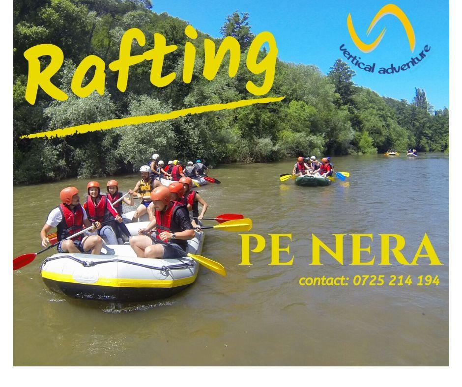 Rafting pe Cheile Nerei