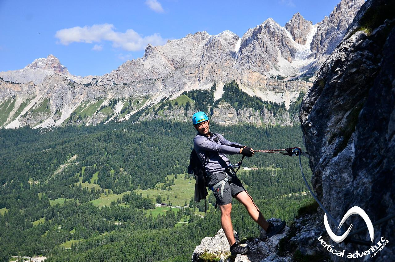 Via - Ferrata   în   Dolomiți,  Italia  21-28 august 2021