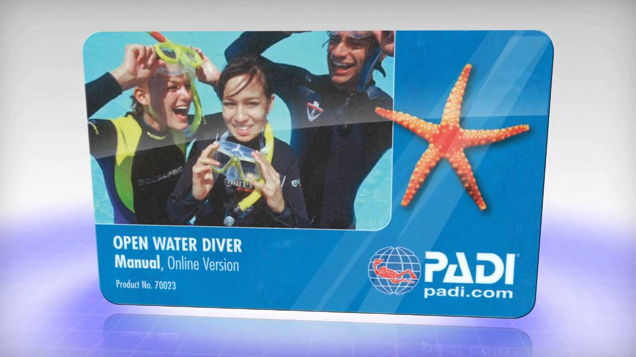 PADI Open Water Diver (OWD) - private teaching