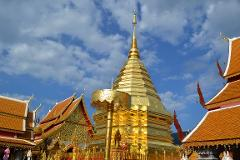 Doi Suthep Temple and Handicraft Industry Village