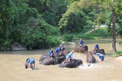 Mahout Course and Karst Carving
