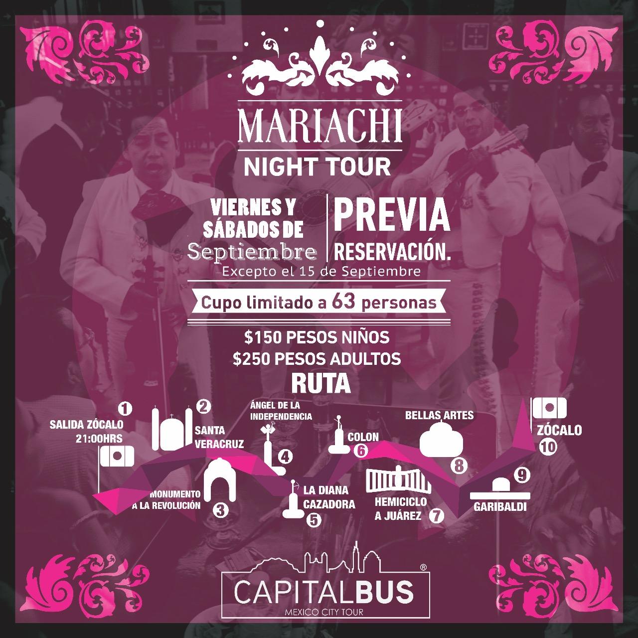 MARIACHI NIGHT TOUR