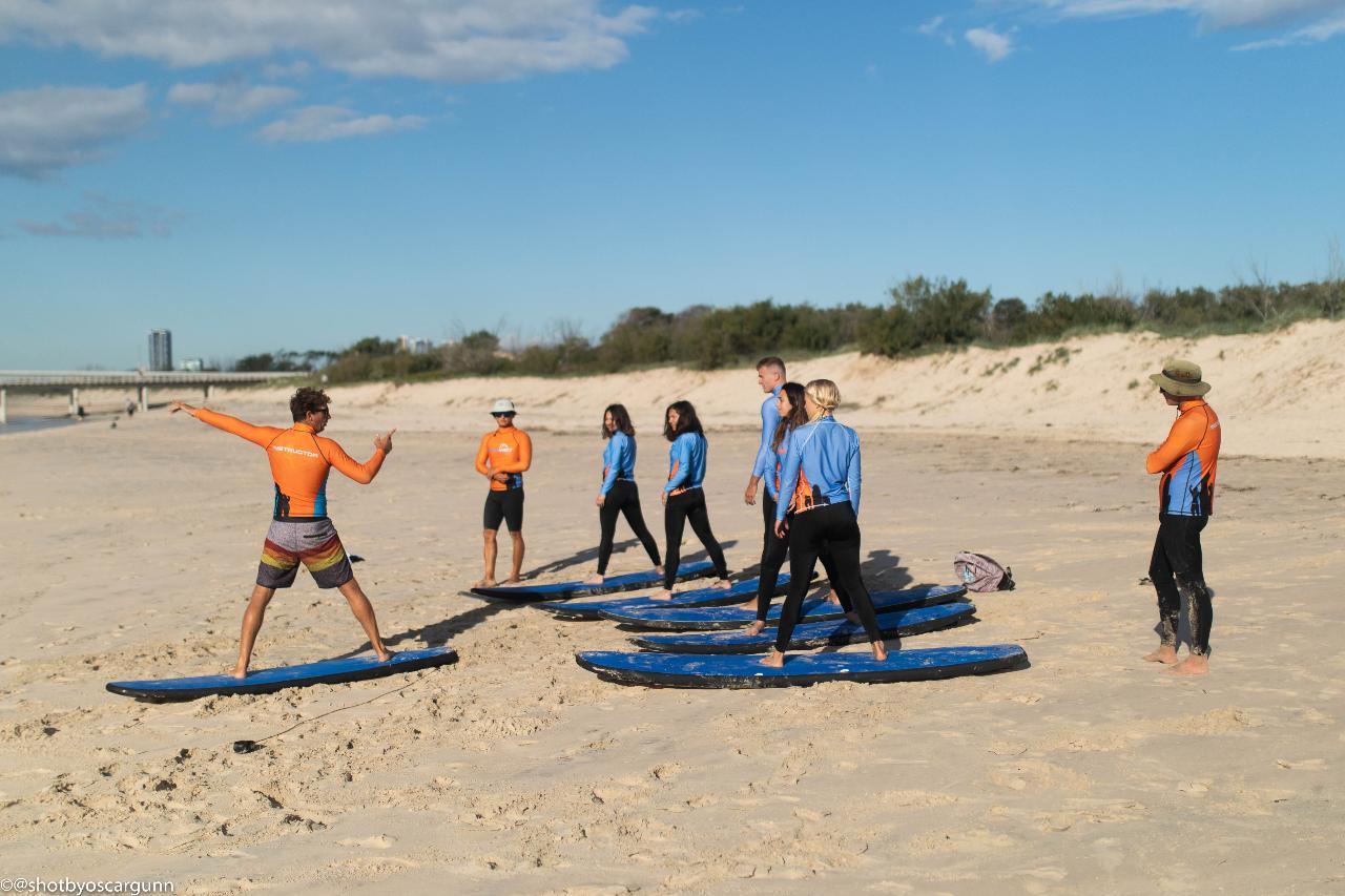 Adults Beginner Surf program 3 days