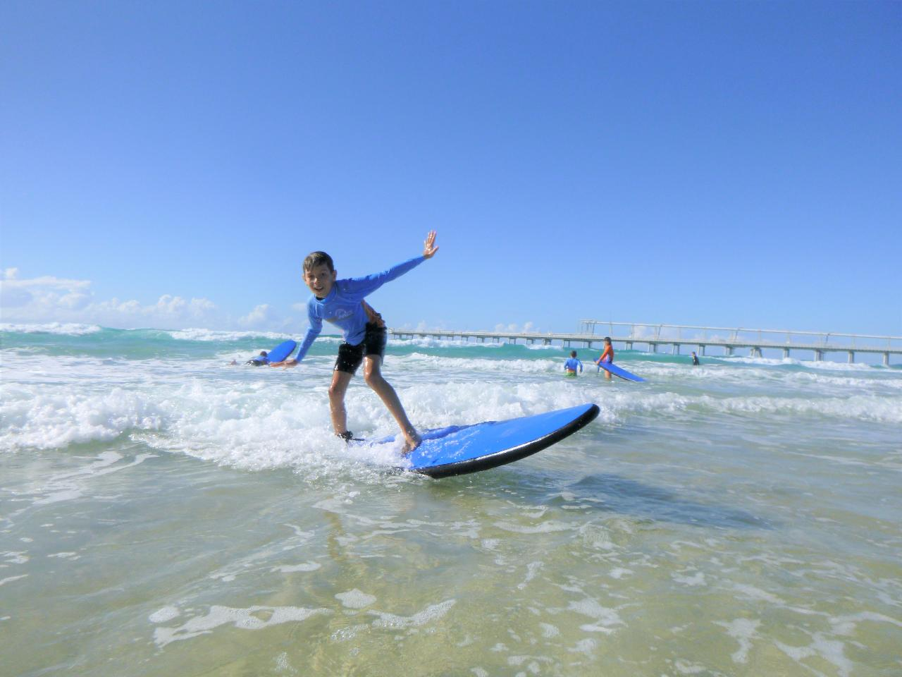 Kids Only Introduction to Surf Lesson