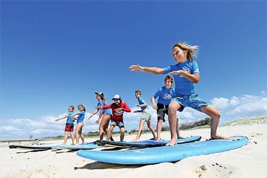 Childrens Beginner Surf program 3 days