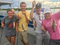 4 Hour Inshore Fishing Charter-Pontoon
