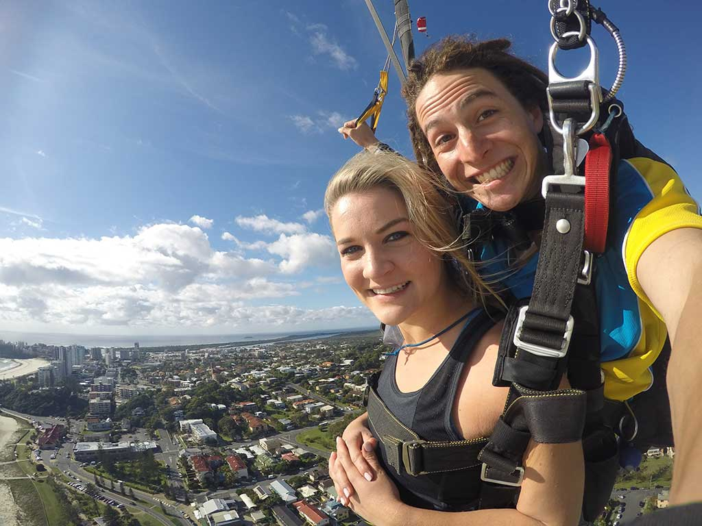 Tandem Skydive Gift Card with Video AND Photos