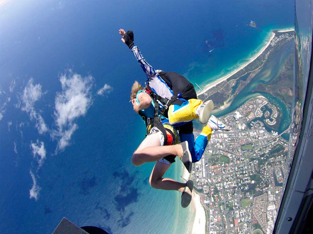 Tandem Skydive Gift Card with Video OR Photos