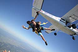Tandem Skydive Gift Card with the ULTIMATE Video and Photo package