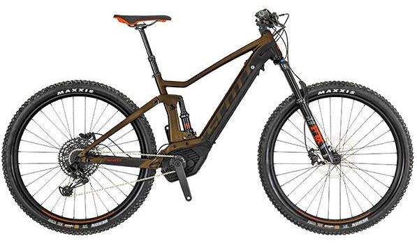LARGE Dual Suspension E-Mountain Bike (Nelson)
