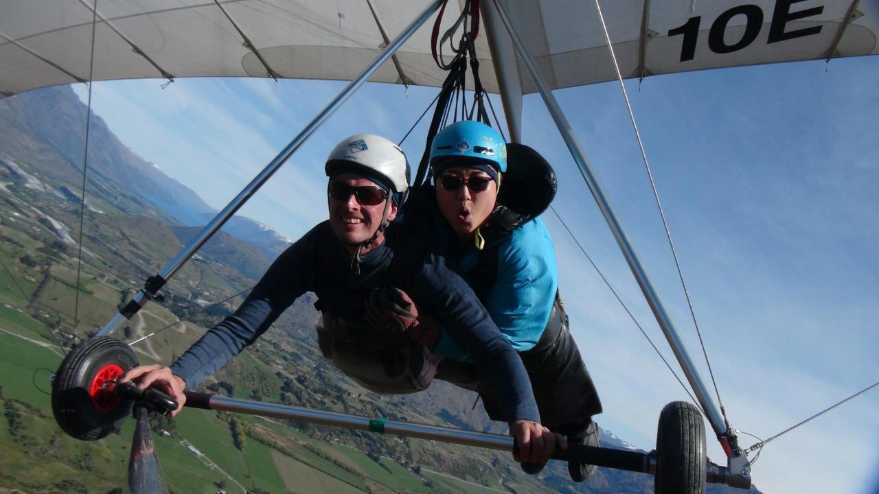 Summer Hang Gliding