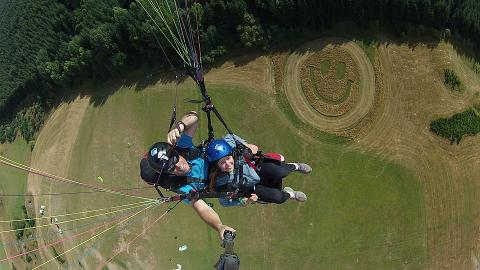 Summer Paragliding - Main Take off
