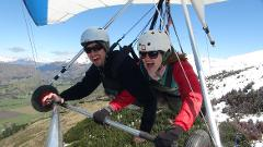 Winter Hang gliding Instructional