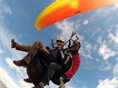 Winter Paragliding Main Take off